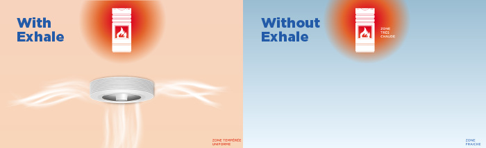 exhale fan and heater
